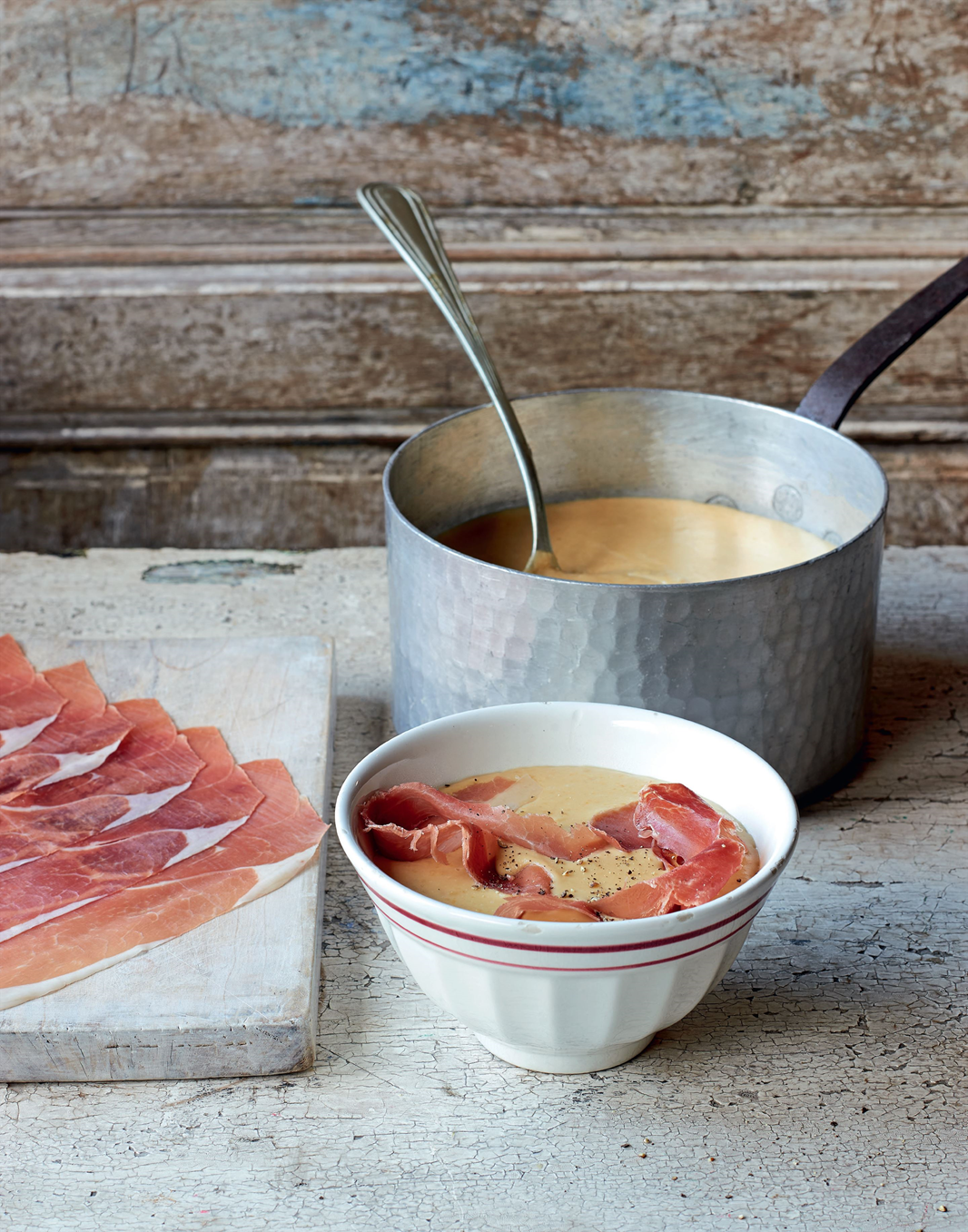 Split pea soup with bayonne ham recipe from James Martin's ...