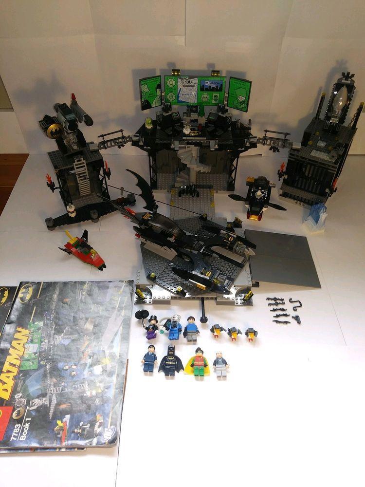 Lego Batman Batcave 7783 100 Complete Wt Instructions Plz Read