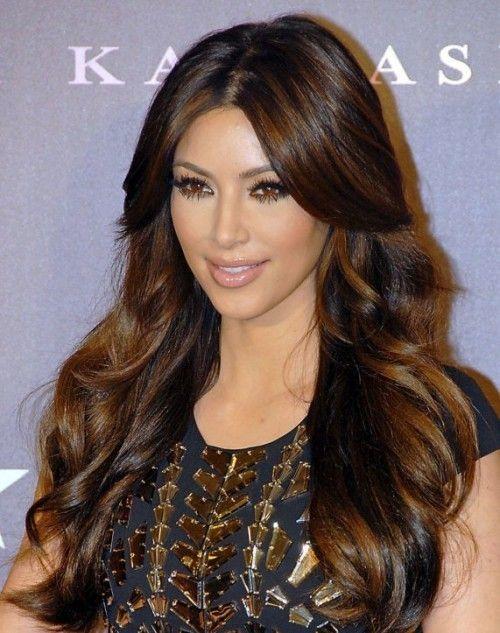 Kim Kardashian Hairstyles Samples: Kim Kardashian Wavy Hairstyles ...