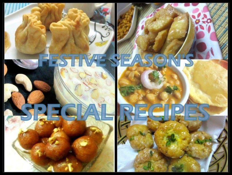 Festive Season's Special Recipes #festivalrecipes #recipescollection #Indianfestivalrecipes #diwalirecipes #diwalisweets #diwalisnacks