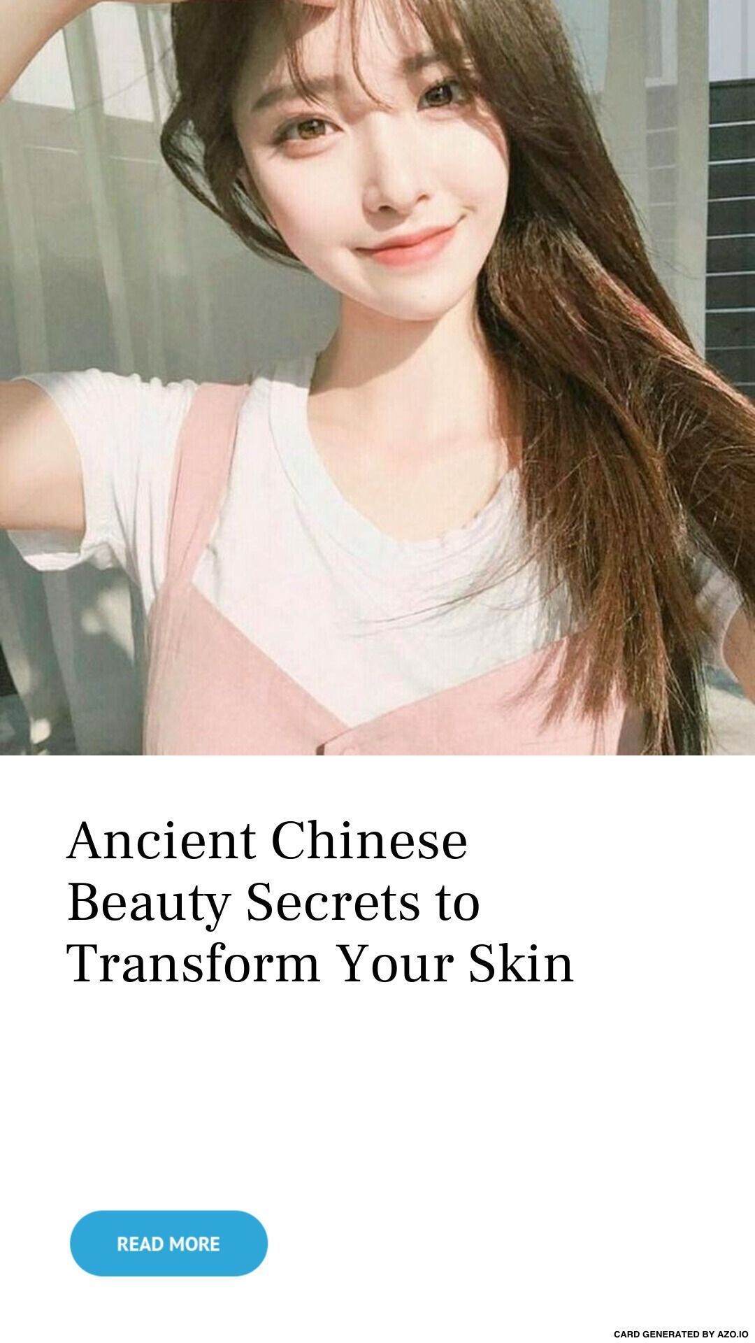 Tips And Tricks For Healthy Youthful Skin  Chinese beauty secrets