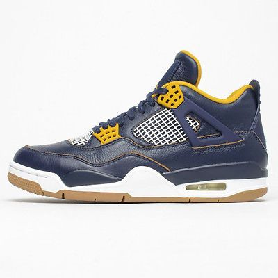 45102187f82e58 Nike Air Jordan 4 IV Retro Gs Big Kids 408452-425 Dunk From Above Shoes  Size 3.5