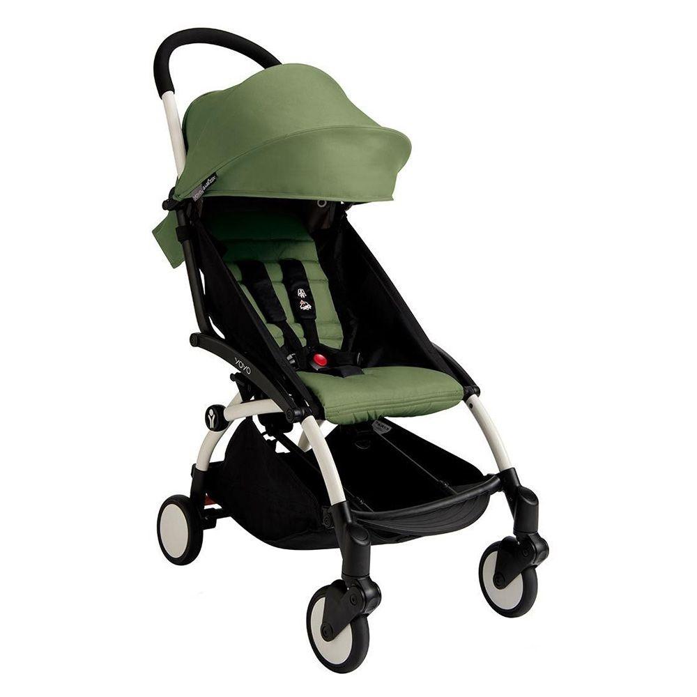 BabyZen YoYo Plus 6m+ Stroller White/Peppermint Baby