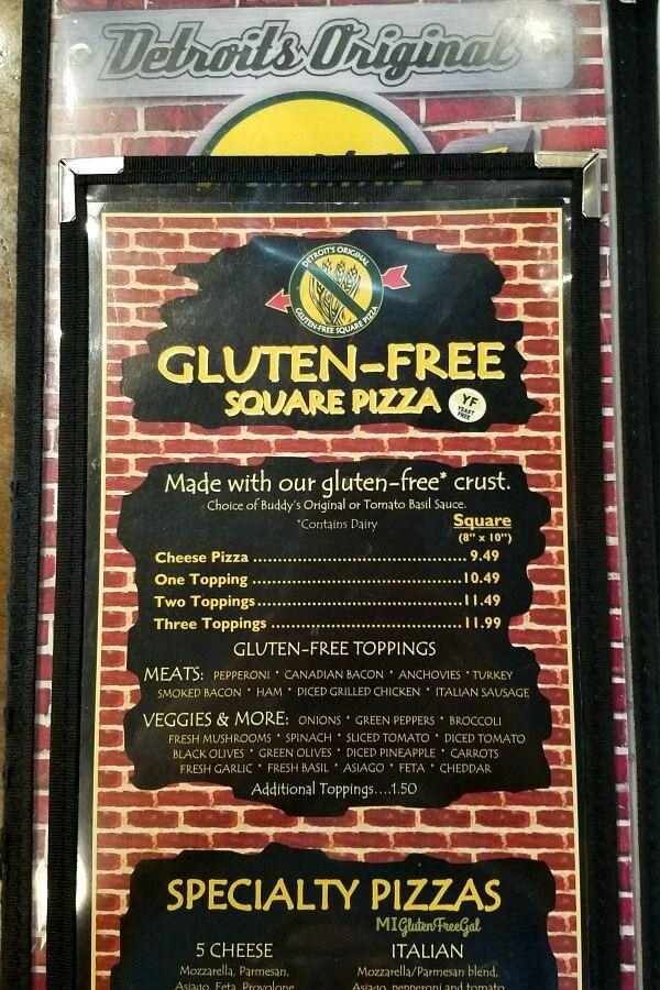 Buddy's Pizza - Gluten Free Detroit Style Pizza | Buddys ...