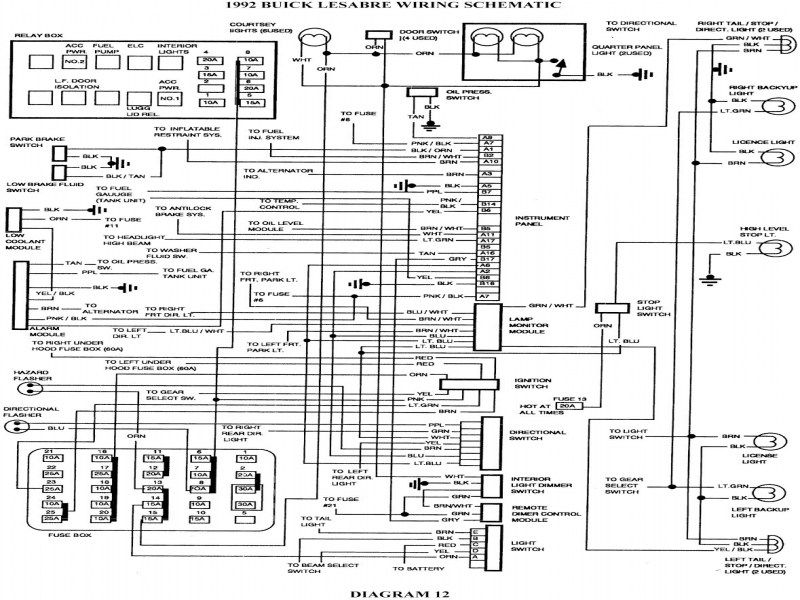 2000 buick lesabre wiring diagram 7  electrical wiring