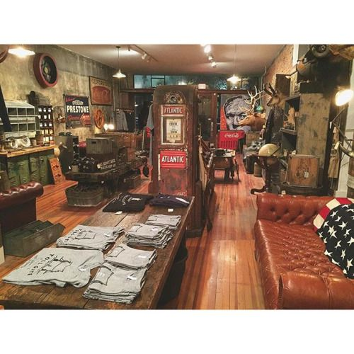 Goodnight from the shop. Stop in this weekend to check out our latest vintage finds. We're open Saturday & Sunday 11-5