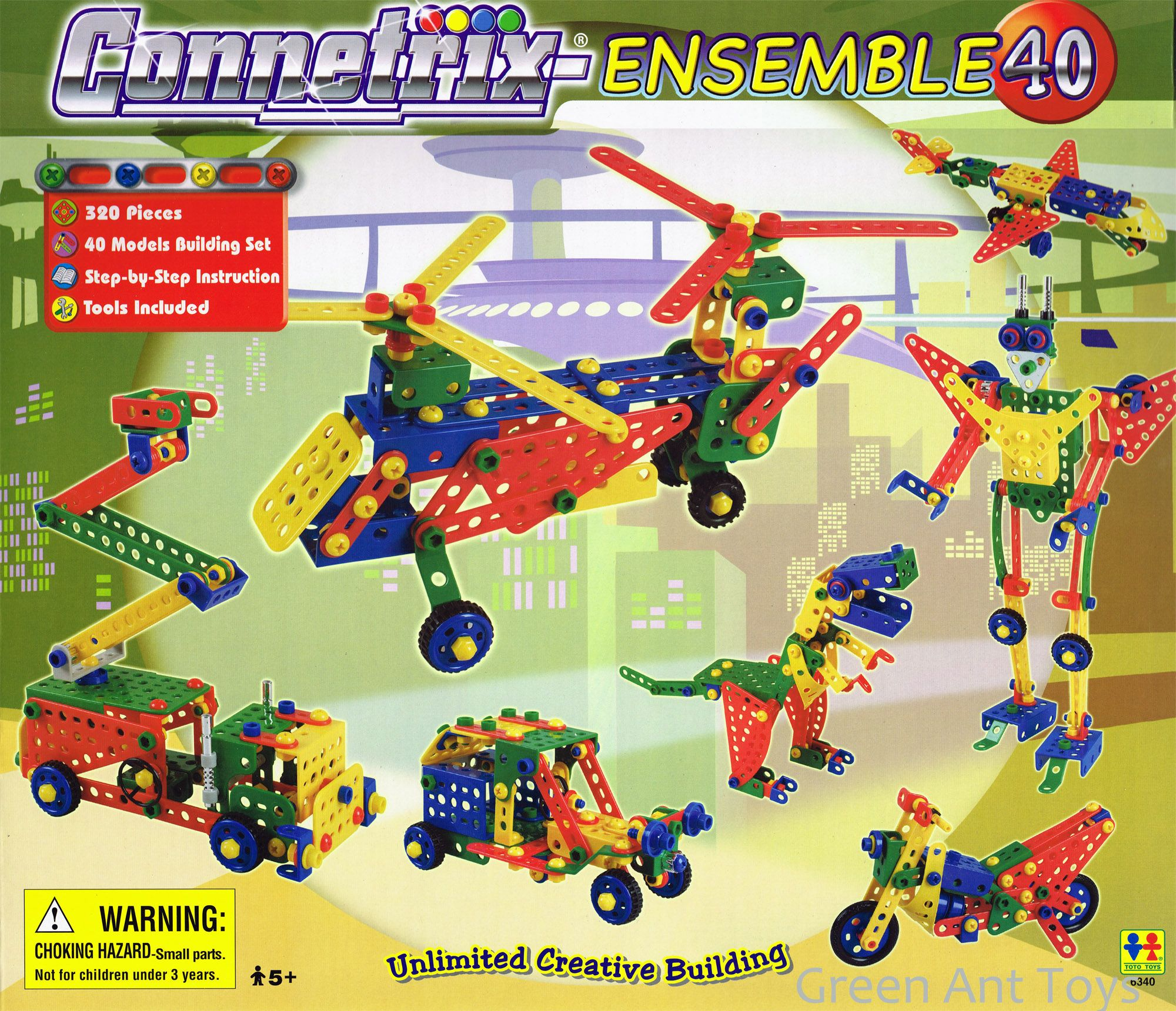 Connetrix Kids Building Construction Sets From Green Ant Toys