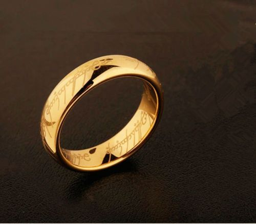 The One Ring Lotr Replica Available In Three Colours One Ring Rings Wedding Rings