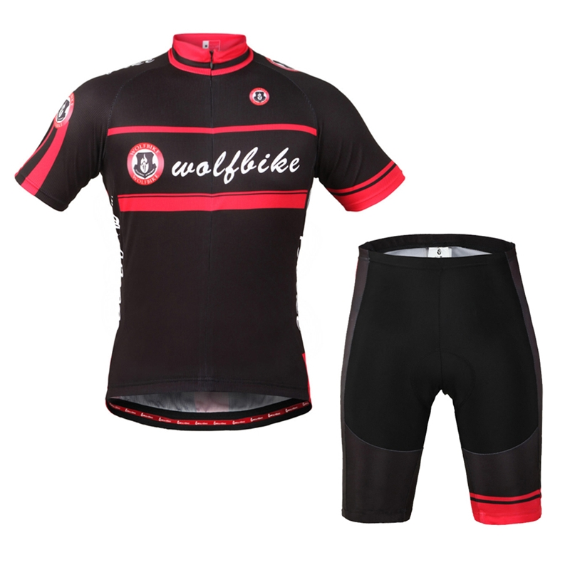 59.38$  Buy here - http://alikv3.worldwells.pw/go.php?t=32595571526 - WOLFBIKE Men Women Breathable Comfortable Quick-drying jersey atletico madrid Summer Short Sleeve Bicycle Cycling ClothingShirt  59.38$