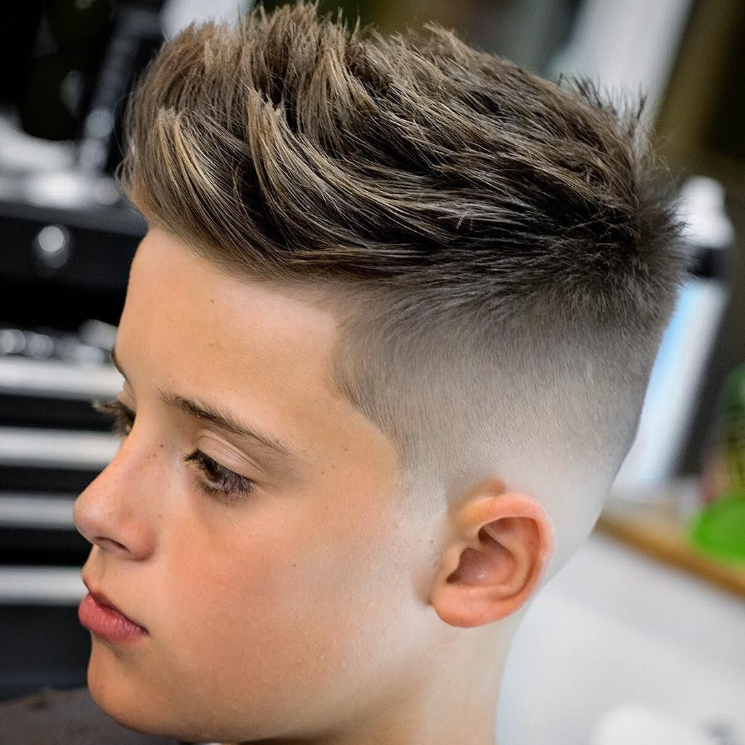 Hairstyle For Boys Kids Fade Haircut Cool Boys Haircuts Cool Kids Haircuts