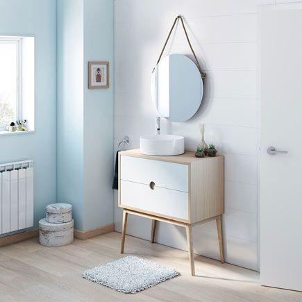 Leroy Merlin Mobili Da Bagno.Kompas Leroy Merlin Round Mirror Bathroom Furniture Home Decor