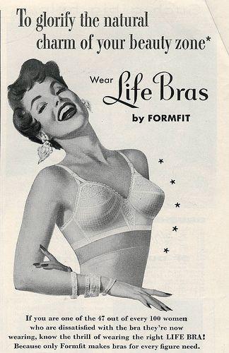Pin on vintage lingerie ads