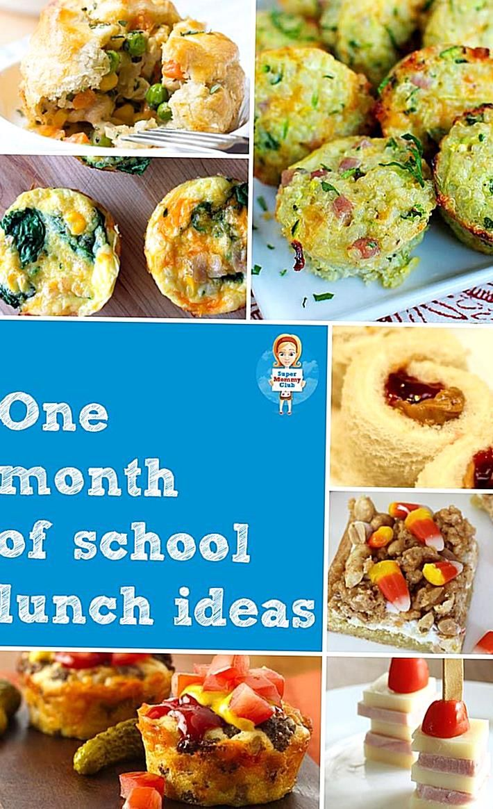 Stuck for easy school lunch ideas f