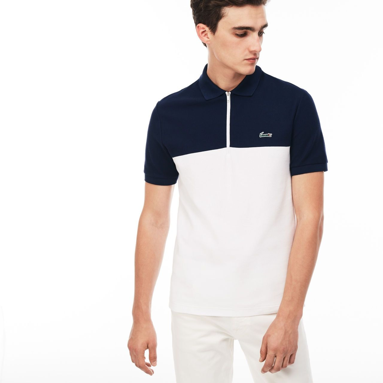 820917391781 Lacoste Slim Fit Mens Polo Shirt - Cotswold Hire