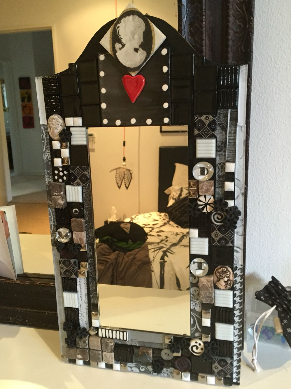 Multimedia and mosaic mirror
