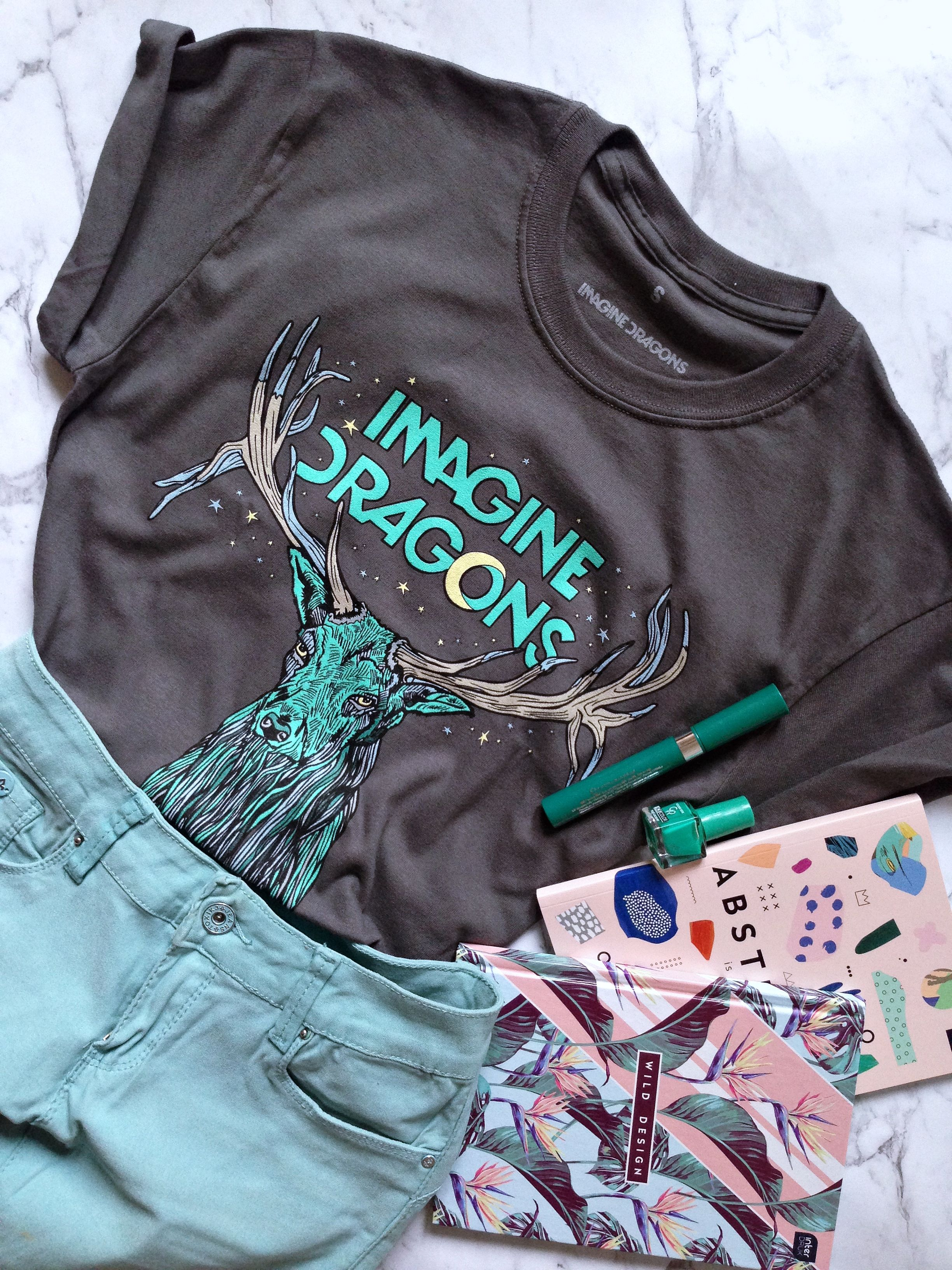 Koszulka Imagine Dragons Imagine Dragons Koszulki Moda