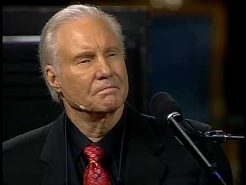 Evangelist Jimmy Swaggart sings Rusty Goodman's,
