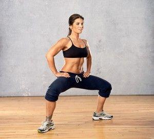 entrenamiento interno del muslo de la pérdida de peso