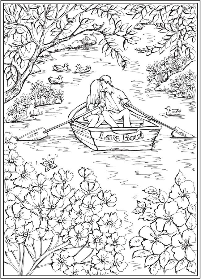 Peachy Welcome To Dover Publications Ch Romantic Country Scenes Download Free Architecture Designs Scobabritishbridgeorg