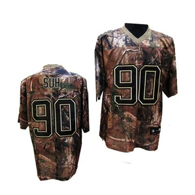 camo lions jersey