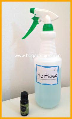 Diy Limpiador Multiuso Antibacterial Trucos De Limpieza
