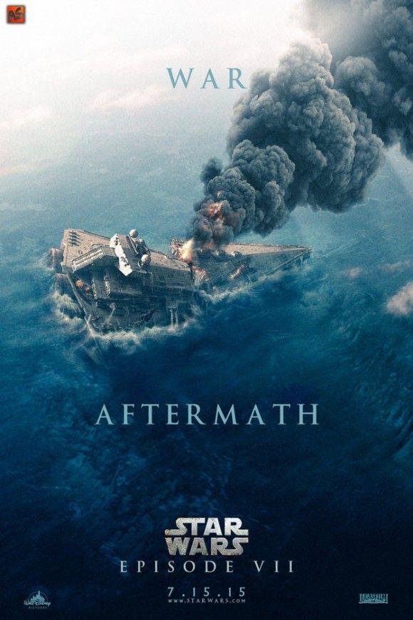 Star Wars: Episode VII #alternative #poster #movie