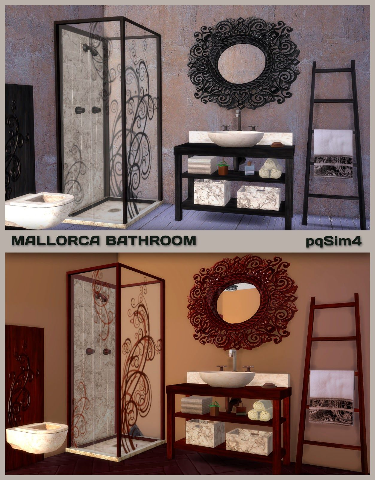 sims 4 cc s the best bathroom martika by pqsim4 sims 4 cc s