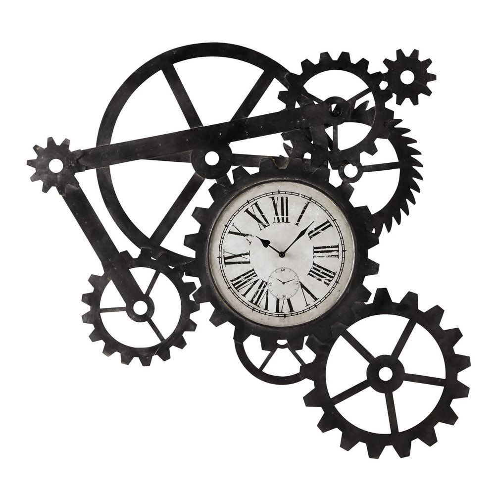 Reloj industrial de metal An. 86 cm en 2019 | Clock & Direction