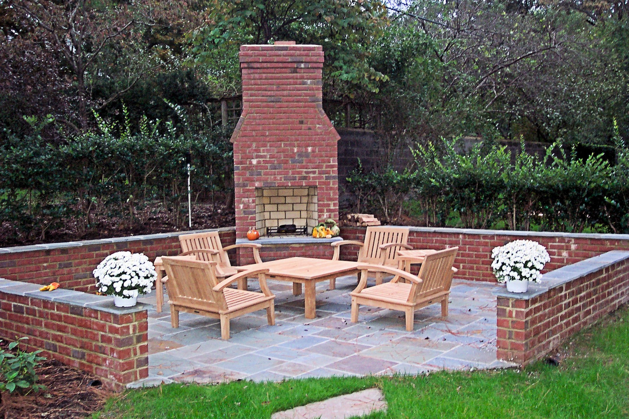 The Brick Around The Outside: Like The Brick Wall Around The Patio