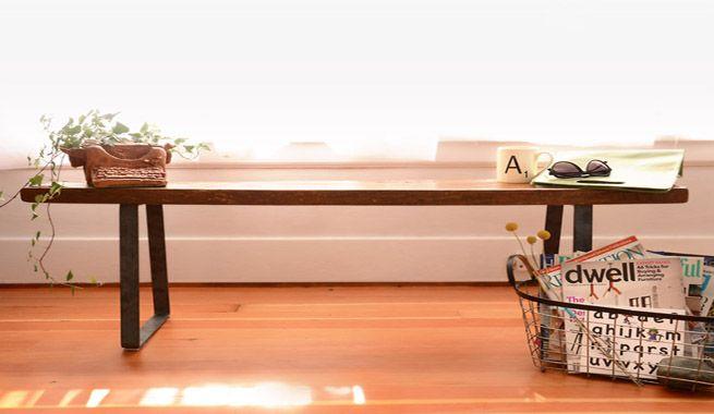 Banco de estilo industrial: hazlo tú mismo – Revista Muebles ...