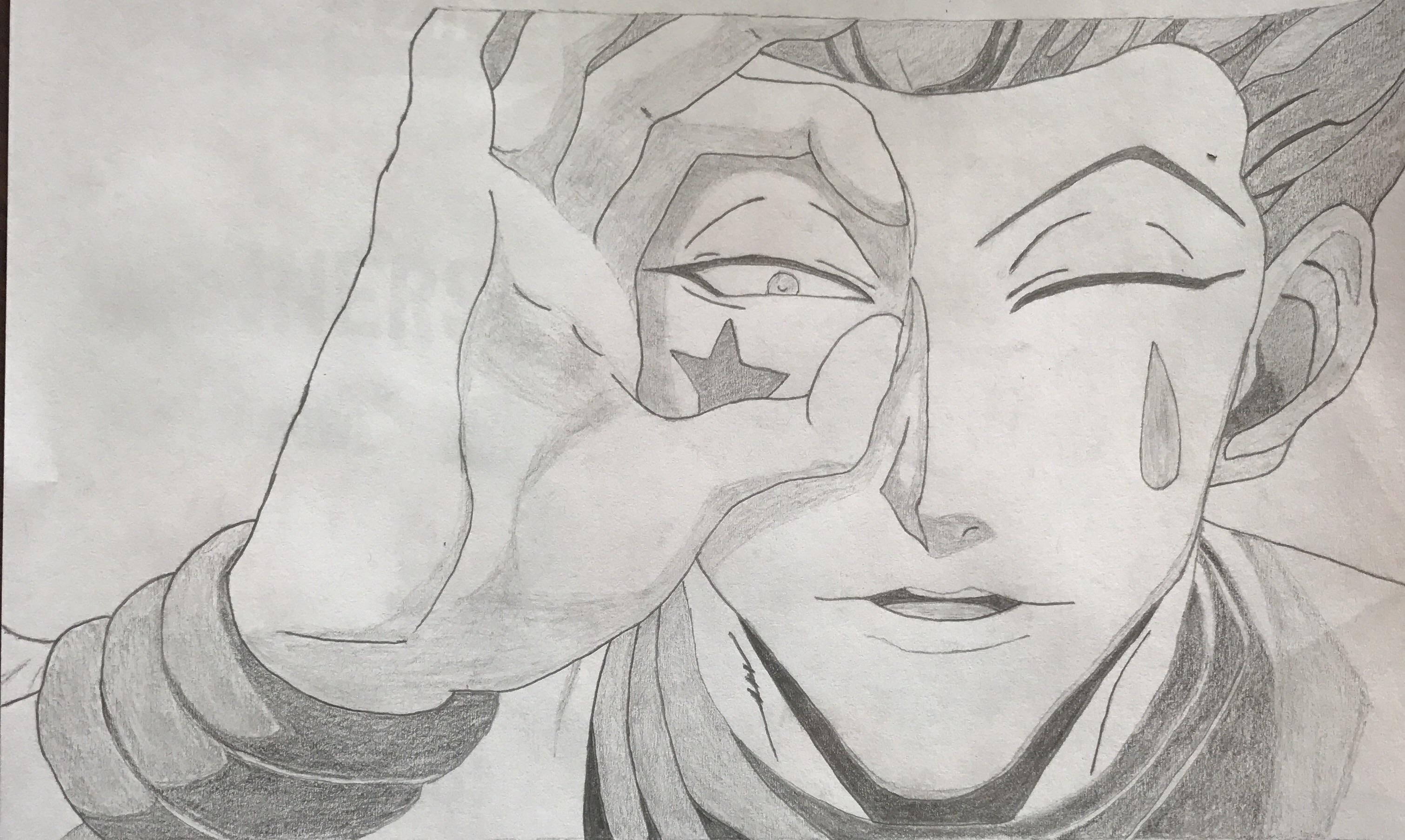 It is a graphic of Geeky Hunter X Hunter Xname Drawing