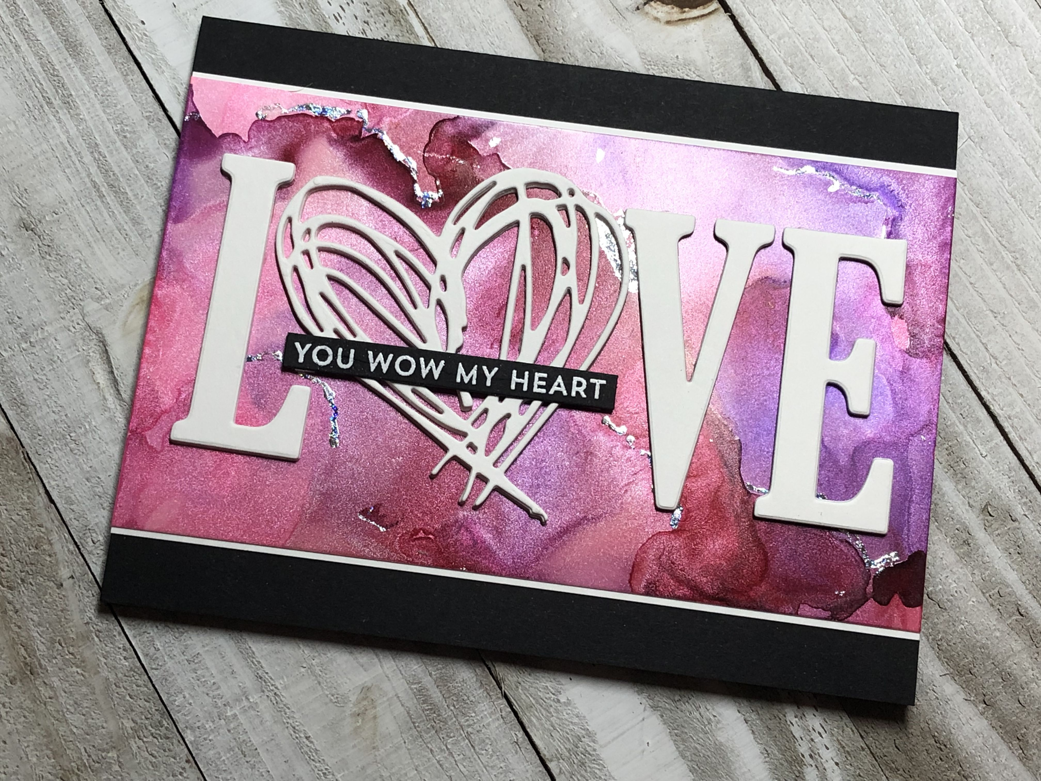 Love Card Mft From The Heart Stamp Set Dies Stampin Up Large