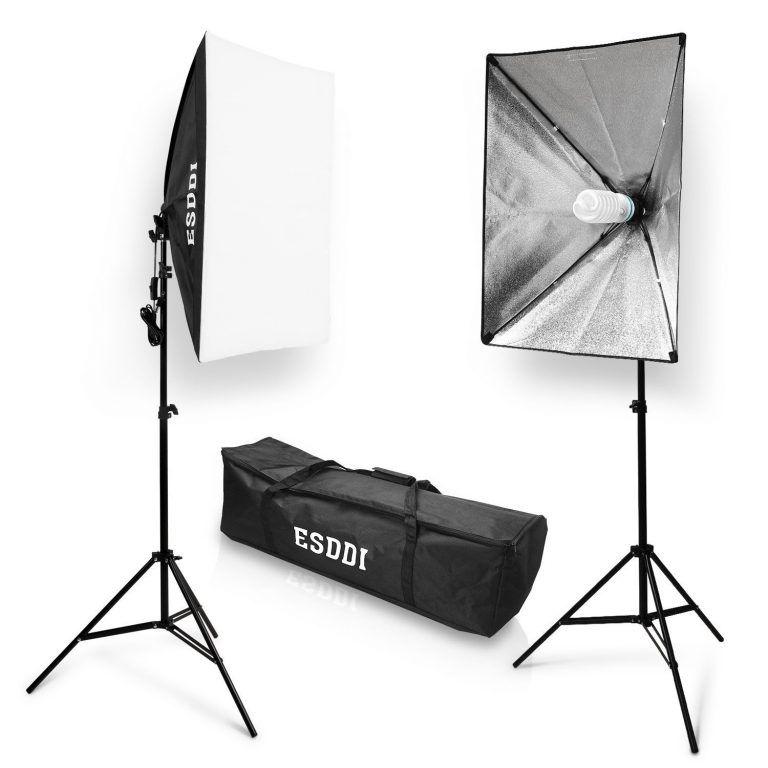 Image result for ESDDI 800W Softbox Photography Lighting Kit