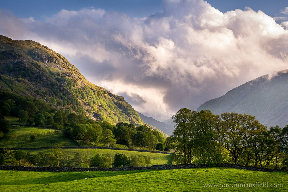 Borrowdale Cumbria Lake District Lake District National Park Landscape Photography