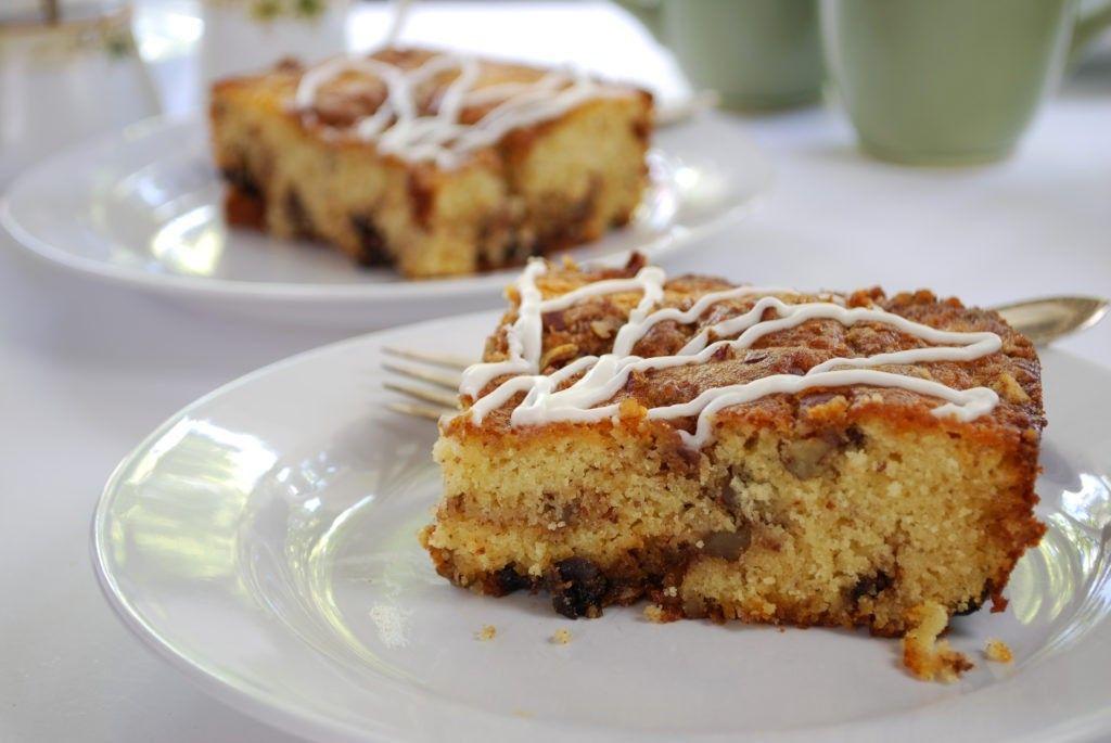 Pamela S Products Gluten Free Sour Cream Coffee Cake Extra Large Cake Sour Cream Coffee Cake Coffee Cake Baking Mix