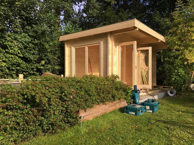 Sauna aufbauen Schritt für Schritt Video Tutorial