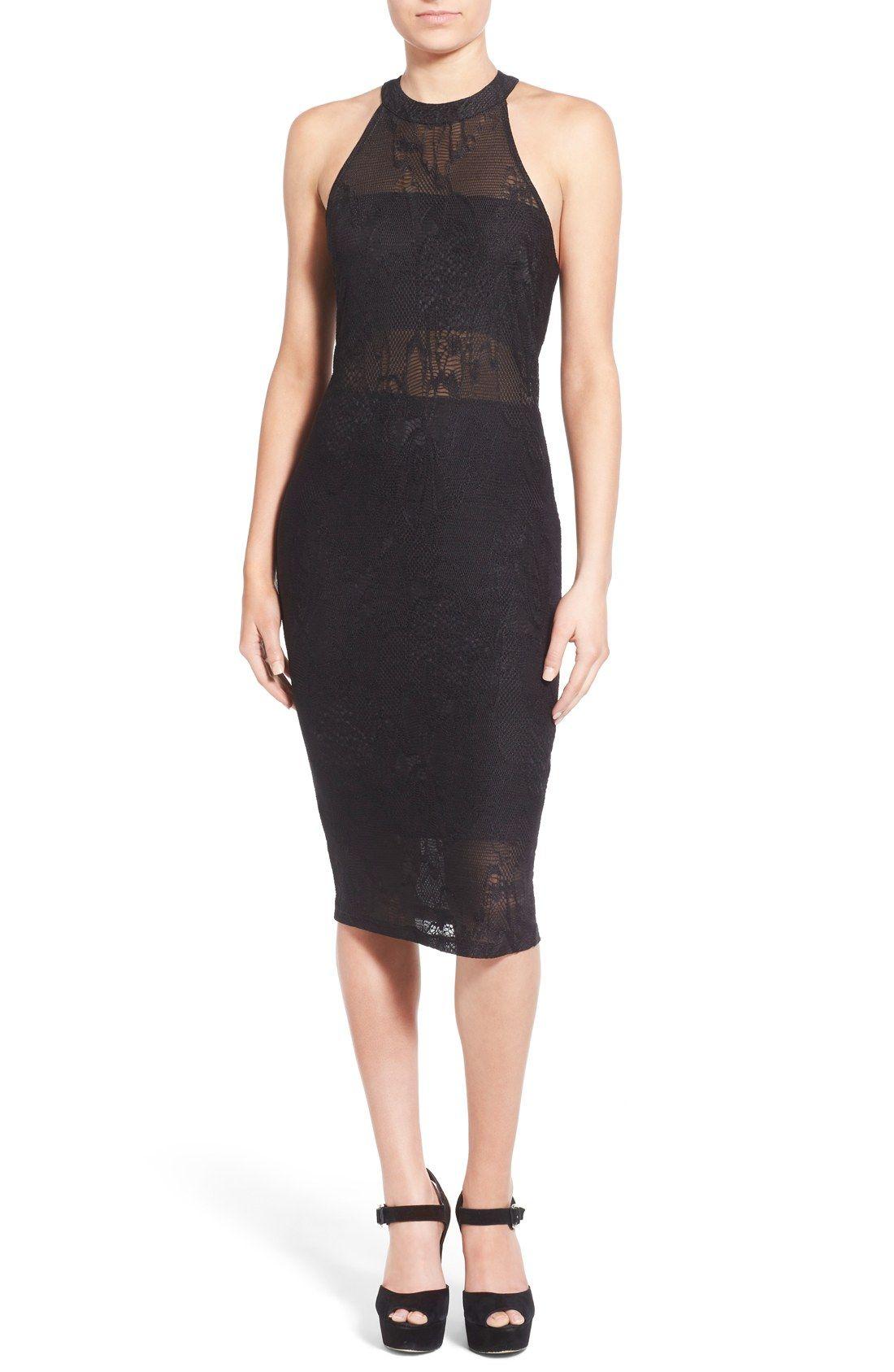 Leith V-Neck Body-Con Dress   Nordstrom from Nordstrom   Dresses ...