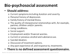 Image result for biopsychosocial assessment activities ...