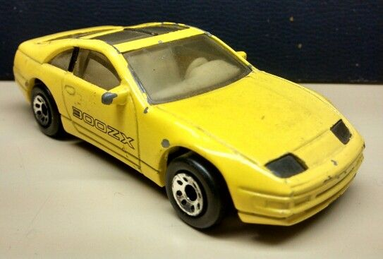 My Matchbox Nissan 300ZX from movie & tv car collection. As seen in the Disney movie Honey I Blew Up The baby.