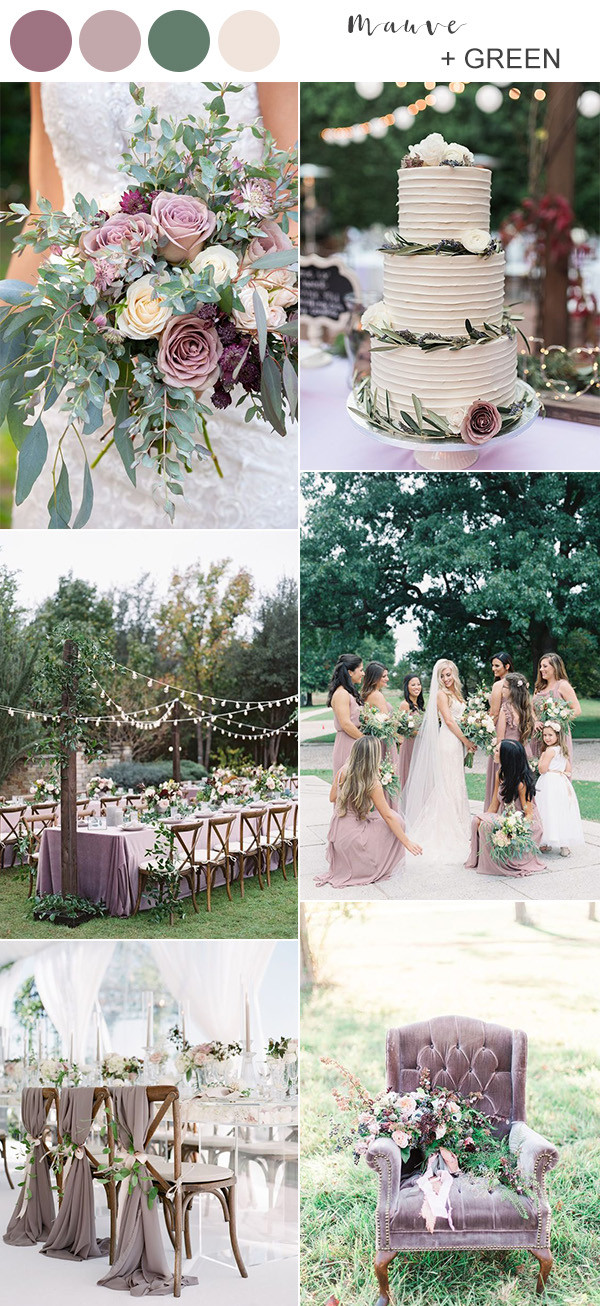 Top 10 Wedding Color Ideas for Spring/Summer 2020 March