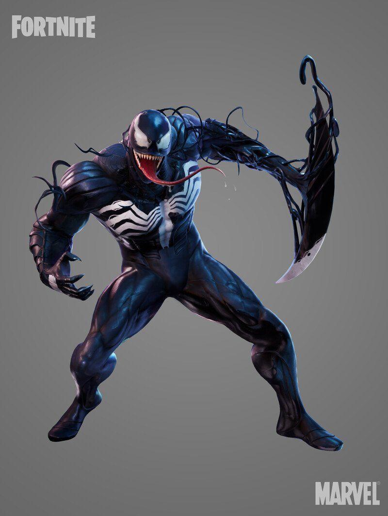 Artstation Fortnite Venom Justin Holt In 2021 Fortnite Venom Tech Art