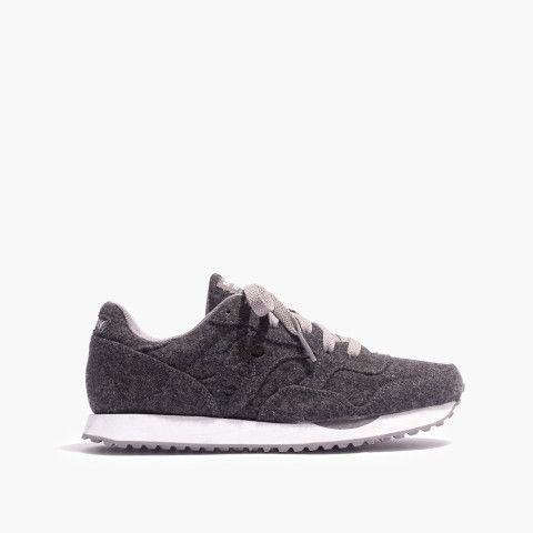 3fee99580812 Madewell   Saucony® DXN Trainer Sneakers in Grey Flannel