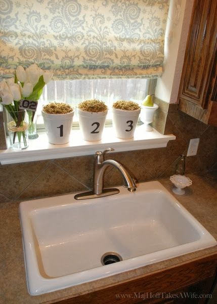 New Single Basin Sink Install (downsizing double sink drains down to one)