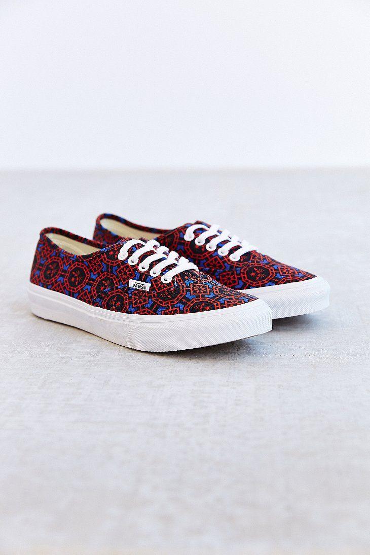 Vans Authentic Slim Dazzling Geo Women's Low Top Sneaker