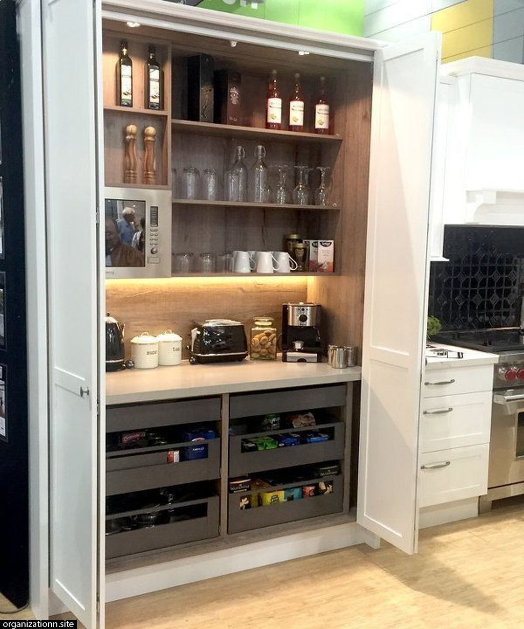 45 Creative And Innovative Kitchen Storage Options In Your House Image 9 Of 56 In 2020 Kitchen Remodel New Kitchen Cabinets Kitchen Design