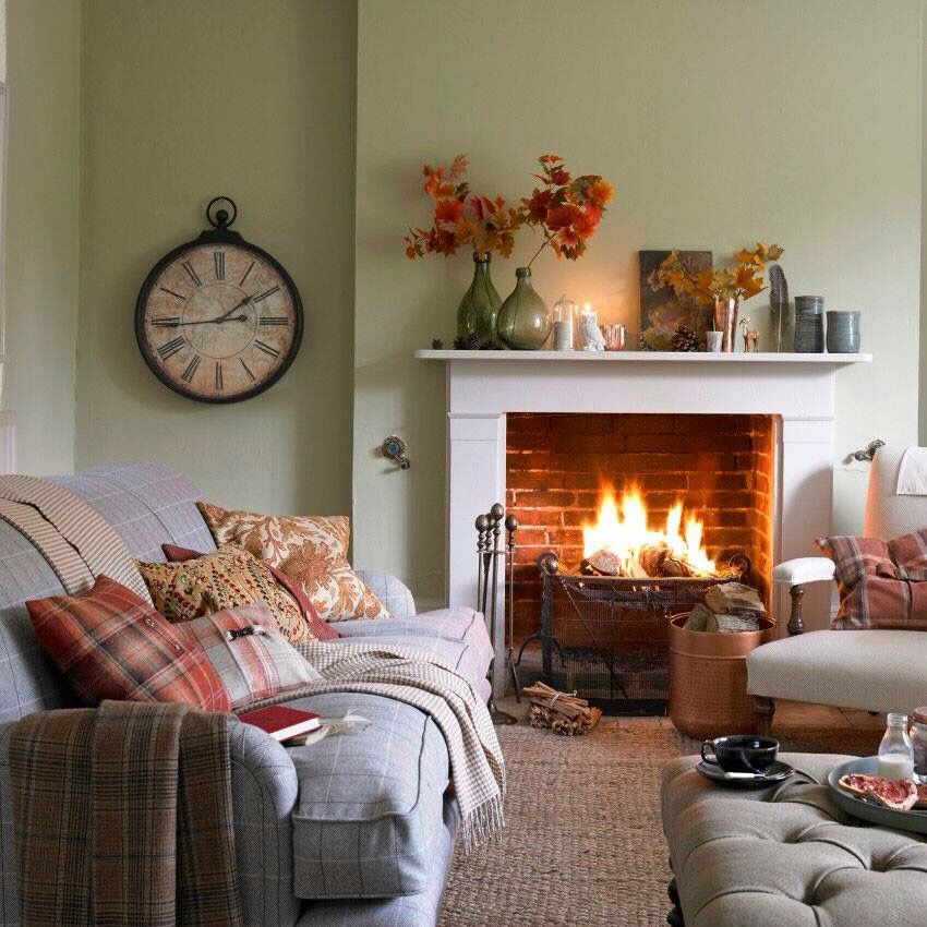 Fall Decor Welcome Autumn Pinterest Living Rooms