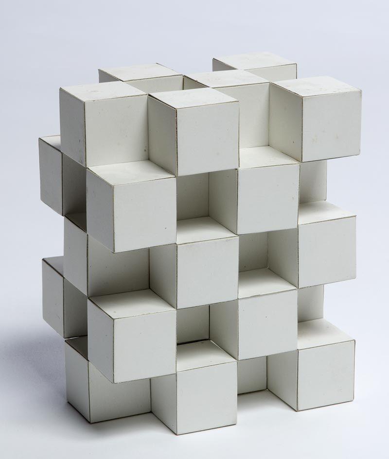Empilement compact platonique cubique s d arch for Architecture cubique