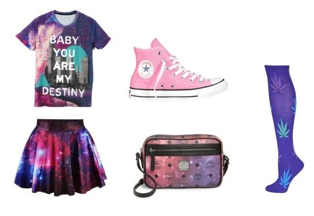"""""""Aurora Anderson-Little Dipper"""" by rebeccacrane1209 on Polyvore featuring Converse and MCM"""