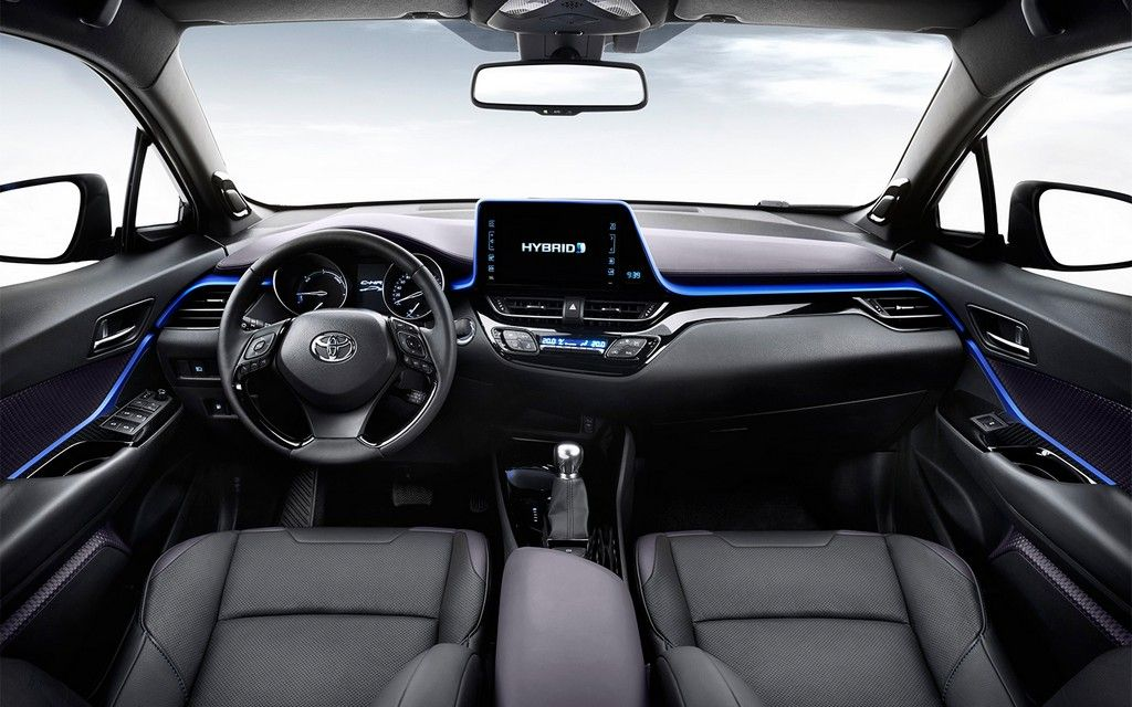 2018 Toyota RAV4 Hybrid interior HD Car Pinterest