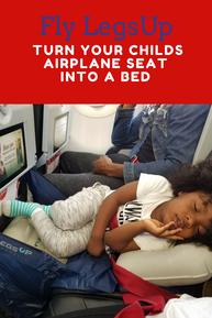 Fly LegsUp Flight Hammock Review | Flying with kids ...